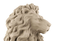 Lion head statue Stock Photo