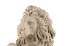 Lion head statue Stock Photography