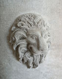 Lion head statue Stock Photos