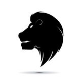 Lion head symbol vector Stock Images