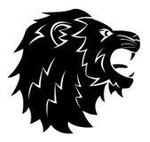 Lion Head Tattoo Illustration Images libres de droits