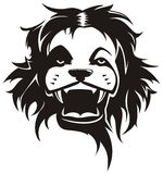 Lion head vector Royalty Free Stock Photos