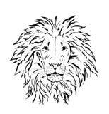 Lion head vector design Royalty Free Stock Photos