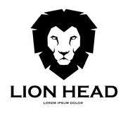 Lion head head vector file – stock illustration. Lion head head – stock illustration Royalty Free Stock Photos
