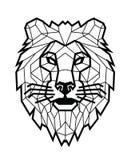 Lion head vector Stock Photography