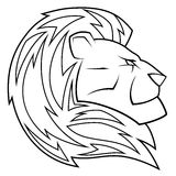 Lion head vector illustration Stock Images