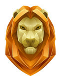 Lion head. On a white background Royalty Free Stock Image