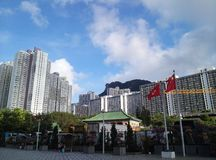 Lion  hill in hong kong Royalty Free Stock Images