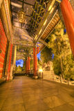 Lion hill temple lijiang yunnan province Stock Photos