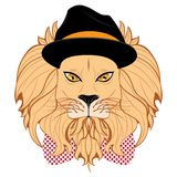 Lion Hipster Stock Photos