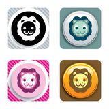 Lion Icon Royalty Free Stock Photos