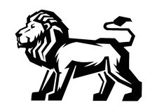 Lion icon vector Royalty Free Stock Images