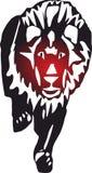 Lion Icons, logo pour le concept et les apps mobiles de Web illustration libre de droits