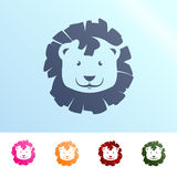 Lion illustration. Vector illustration of a lion Stock Photo