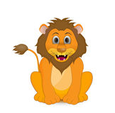 Lion illustration isolated Stock Photos