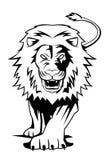 Lion. Illustrator desain .eps 10 Stock Photo
