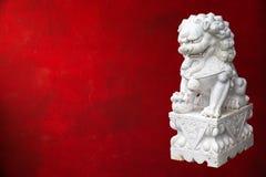 Lion impérial chinois images libres de droits