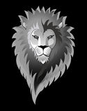 Lion isolated on black Stock Image