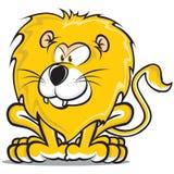 Lion King. Lion illustration 2D Jungle Cartoon vector illustration
