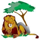 Lion king royalty free illustration
