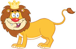 Lion King Of Jungle Stock Images