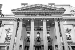 Lion King Musical au théâtre de Luceum à Londres - à LONDRES - la GRANDE-BRETAGNE - 19 septembre 2016 Photographie stock libre de droits