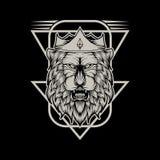Lion king vector illustration design vector illustration