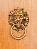 Lion Knock Stock Image