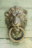 Lion knocker Stock Photos