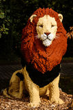 Lion in lego in Planckendael zoo Stock Images