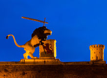 Lion of Leiden Stock Photos