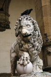 Lion of the Loggia of Lanzi Royalty Free Stock Image