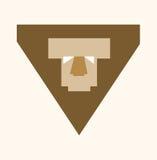 Lion Logo Arkivfoto