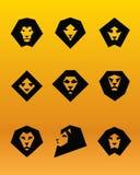 Lion Logo Fotografering för Bildbyråer