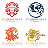 Lion Logo Concept Royalty Free Stock Photo