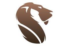 Lion logo Royalty Free Stock Photography