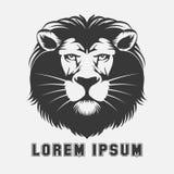 Lion logo element Royalty Free Stock Images
