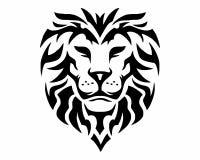 Lion logo Stock Photography