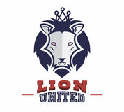 Lion logo sport extreme and business. Stock Images