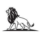 Lion Logo Template Vector Royalty-vrije Stock Foto's