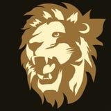 Lion logo. vector Royalty Free Stock Photography