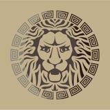 Lion Logo Vintage Style Images stock