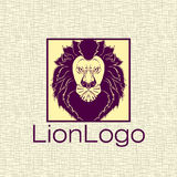 Lion Logo For Your Company Royalty Free Stock Photography