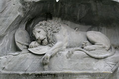 Lion of Luzern Stock Photography