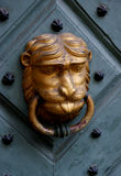 Lion Man door knocker Royalty Free Stock Images