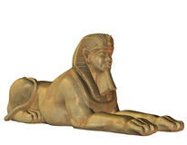 Lion Man from Egyptian mythology Stock Photo