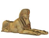 Lion Man from Egyptian mythology. 3D Rendering Lion Man from Egyptian mythology Stock Photo