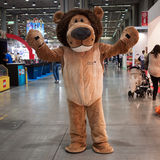 Lion man at G! come giocare in Milan, Italy Stock Photos