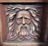 Lion man statue Stock Images
