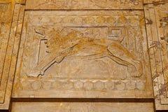 Lion Marble Relief immagini stock libere da diritti